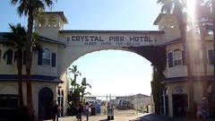 Crystal Pier Hotel Entrance, San Diego CA