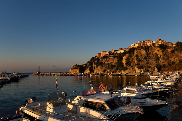 Agropoli from port