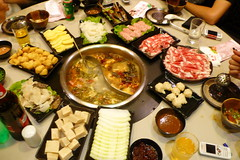 hors d'oeuvre(0.0), osechi(0.0), meal(1.0), lunch(1.0), supper(1.0), samgyeopsal(1.0), hot pot(1.0), buffet(1.0), food(1.0), dish(1.0), cuisine(1.0),