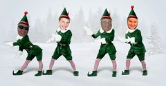 army men(0.0), christmas(0.0), toy(0.0), christmas elf(1.0), fictional character(1.0),