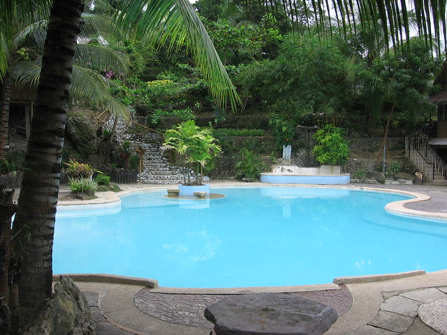 Hidden paradise mountain resort pool 2 flickr photo for Pool garden mountain resort argao