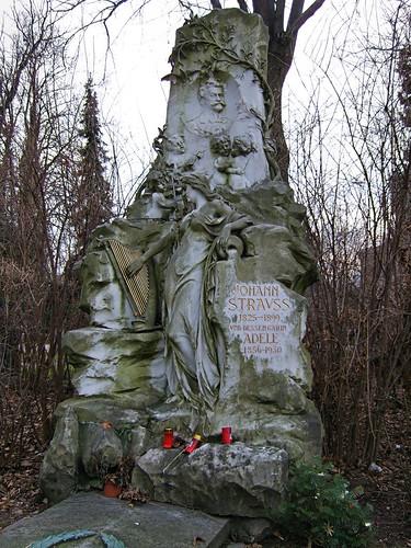 Zentralfriedhof - Johann Strauss