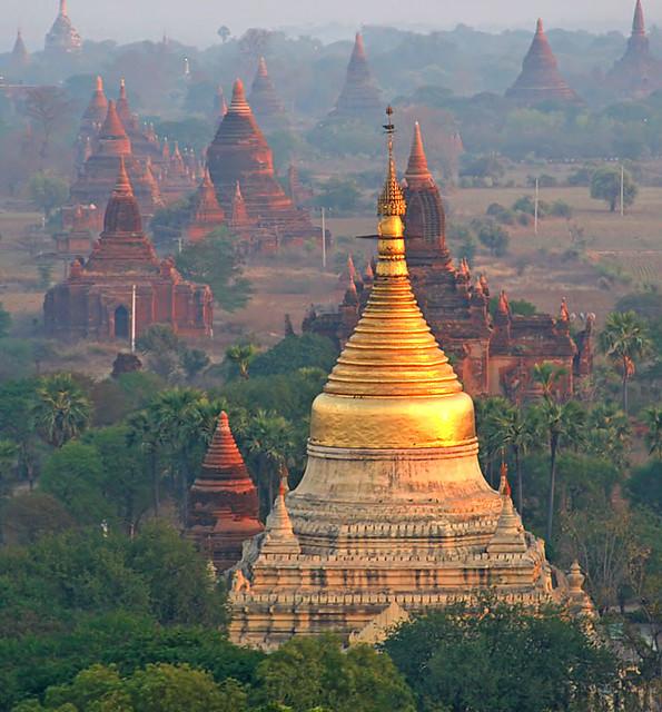 Bagan temples pagodas myanmar celebrity