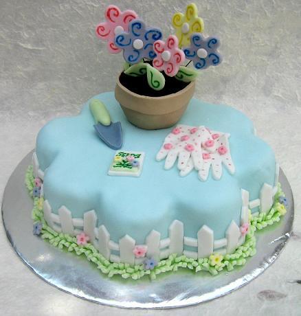 Flower Garden Cake   Flickr - Photo Sharing!