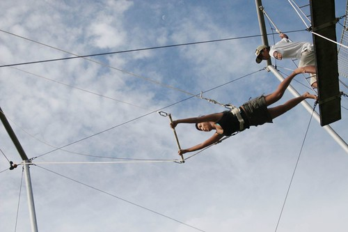 Lavern on Flying Trapeze | by kurrren