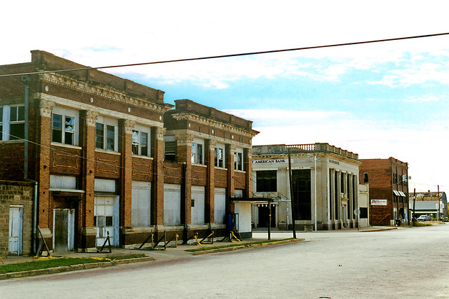 Ghost Town look, Ranger, Texas
