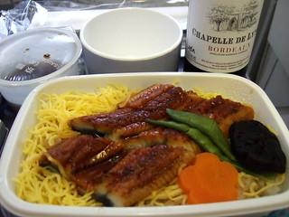 JAA 飛機餐 -- 鰻魚飯