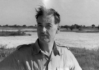 Archaeologist Thurstan Shaw in Senegal (West Africa), 1967