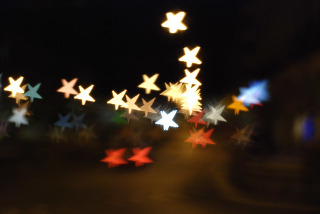 star shaped bokeh 5