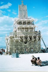 The Temple,  Black Rock City, Nevada
