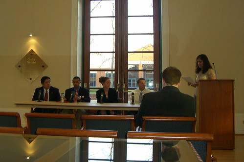UVA Law SBA Election Debate