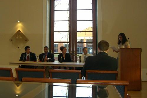 UVA Law SBA Election Debate