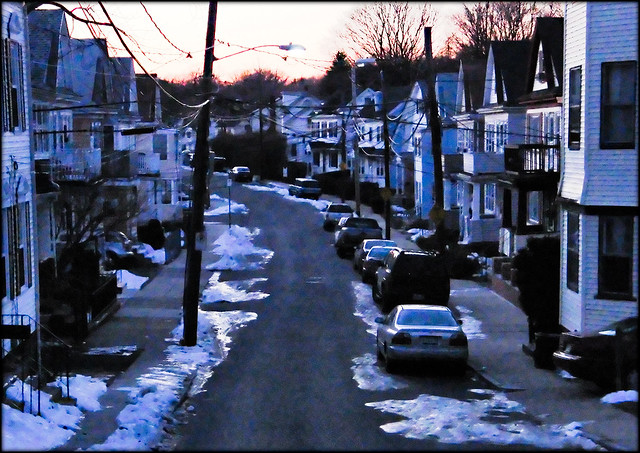 Twilight Early 21st Century Dorchester Massachusetts