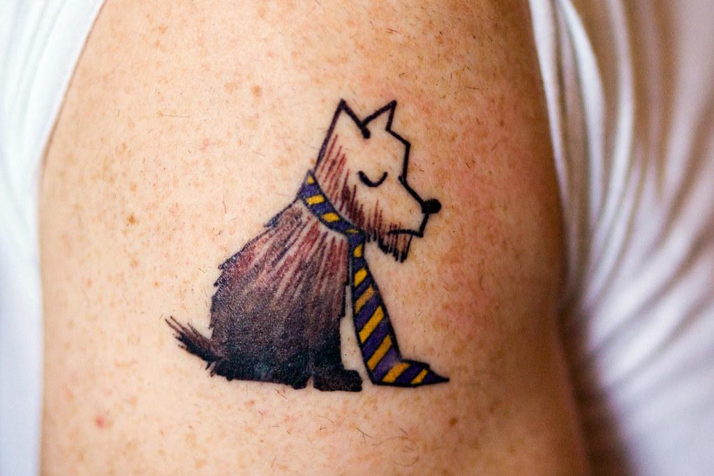 Ένα χαριτωμένο τατουάζ...