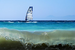 windsurfing | by esther**