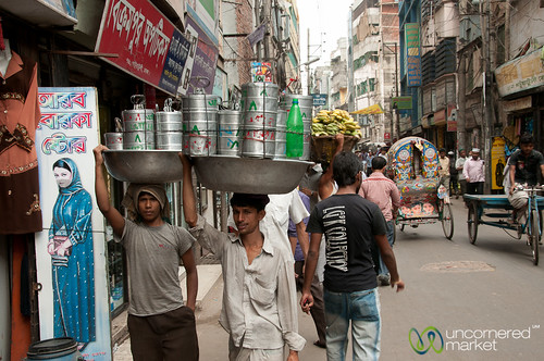 Tiffin Delivery Service in Old Dhaka, Bangladesh