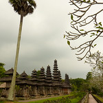 Row of Pagodas at Taman Ayun - Bali, Indonesia