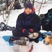 Winter Camping On The Tongue Mountain Range - (c. 2003)