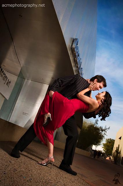 Ryan & Andrea Engagement Portrait Photography - Scottsdale AZ