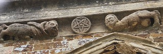 St. Mary's Church, Adderbury. Pentagram