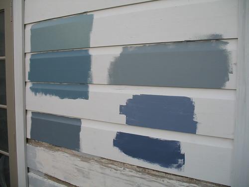 Exterior Paint Colour Selection