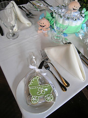 sugar cookie baby shower favors