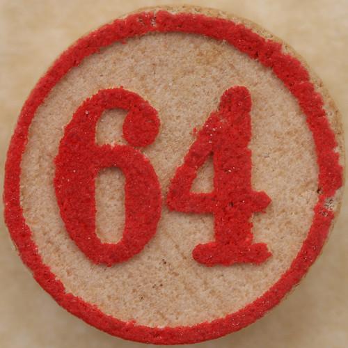 Bingo Number 64