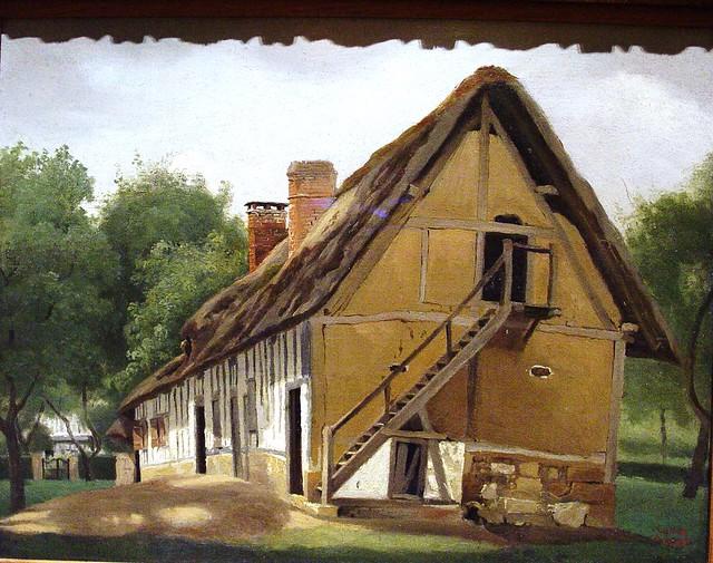 Farm Building at BoisGuillaume, Near Rouen 182324, by  ~ Bois Guillaume Rouen