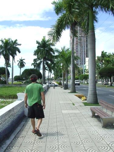 Avenida Balboa, malecón Ciudad de Panamá