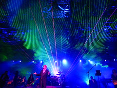 Trans Siberian Orchestra Concert - The Laser Backdrop