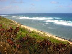 Larsens Beach on Kauai's North Shore