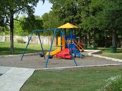 backyard, outdoor play equipment, swing, playground slide, public space, playground, park,