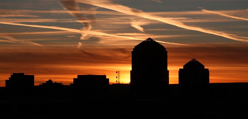 newmexico downtown sunsets albuquerque albuquerquesunset anawesomeshot superbmasterpiece