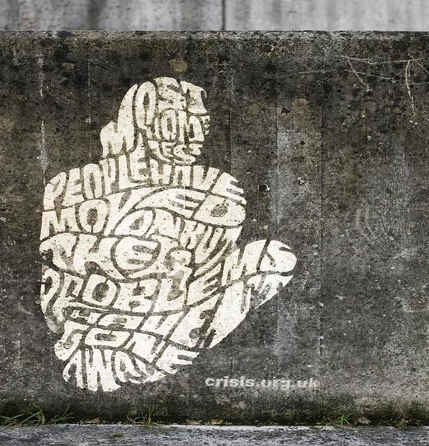 Crisis Reverse Graffiti 16