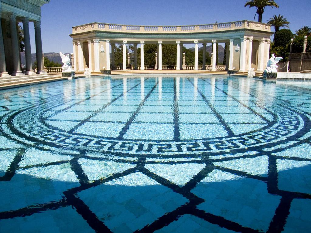 Hearst castle neptune pool flickr photo sharing for Castle gardens pool