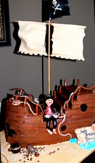 Pirate Tommy w sails