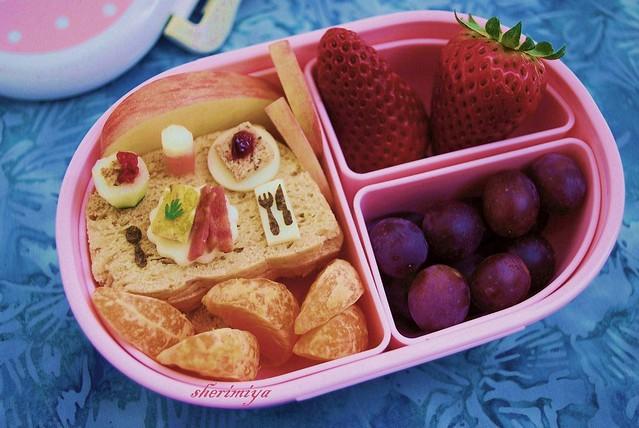 mini breakfast bento