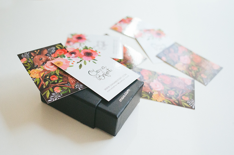 new business cards + a giveaway with moo.com