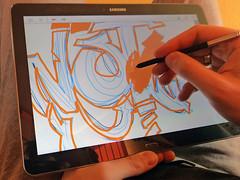zeichnen mit dem S Pen (Galaxy Note Pro 12.2)
