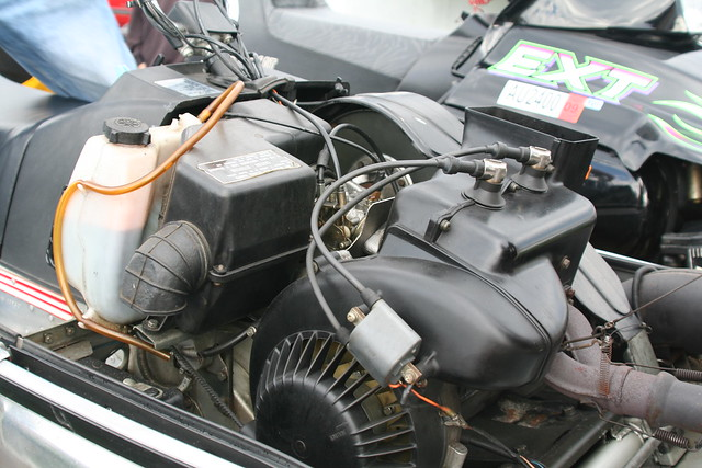 Yamaha Enticer 340 Engine