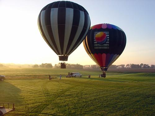 sunrise anniversary hotairballoon stillwater