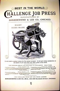 Shniedewend & Lee 1888
