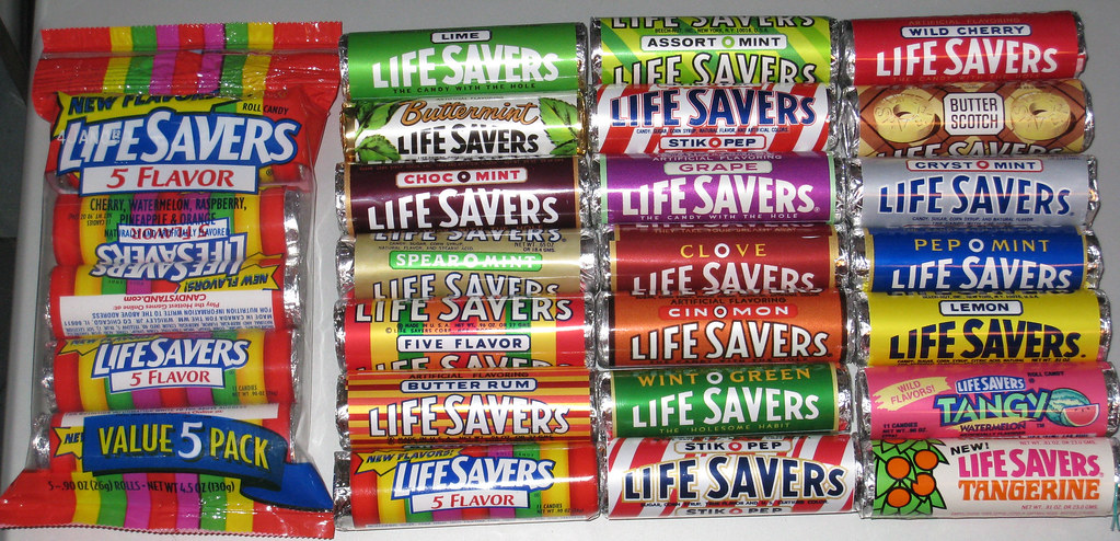 my lifesavers roll reproductions