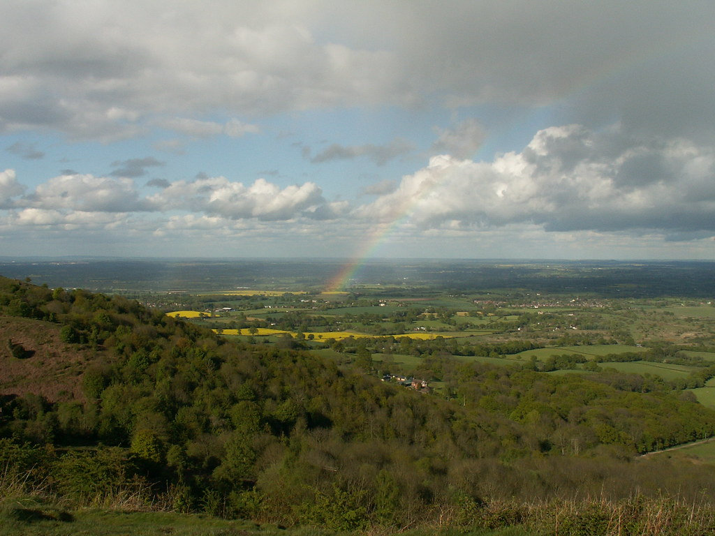 Nice rainbow about Worcestershire