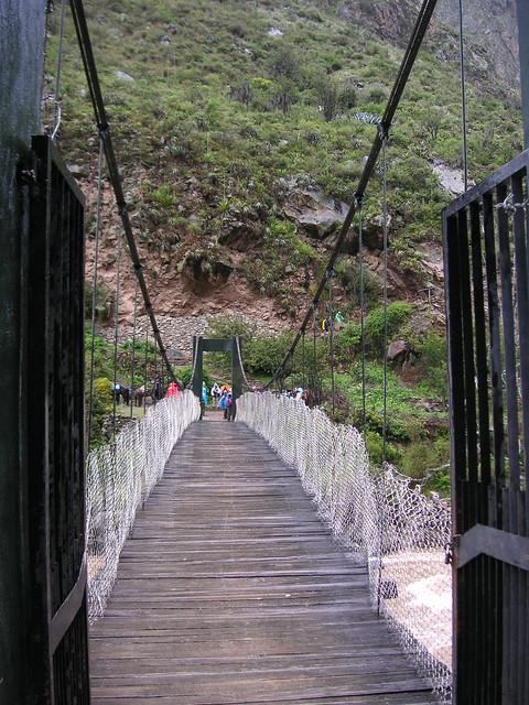 Machu Picchu Peru. Inca Trail Day 1