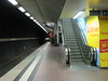 Subway Station at Stuttgart Airport by puregin