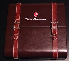 Tonino Lamborghini Leather Travel Humidor