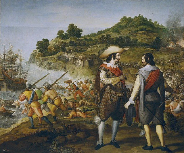 Eugenio Cajés_The recovery of San Juan of Puerto Rico, 21 okt 1625