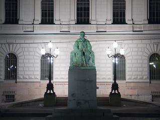 Billede af J. V. Snellman. helsinki senatesquare