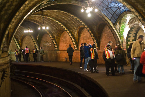 New York City Subway Old City Hall Station